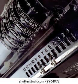 antique,calculator