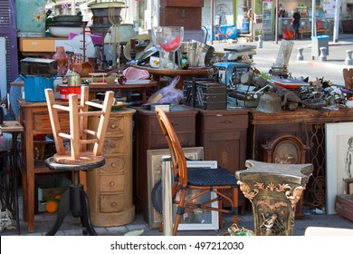 antiquities shop at Jaffa flea market