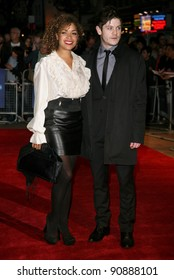 Antonia Thomas and Iwan Rheon arriving at the film premiere of 'Wild Bill' at The Vue West End, London. 21/10/2011  Picture by: Alexandra Glen / Featureflash