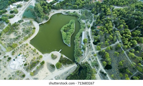 ANTONIS TRITSIS PARK FROM ABOVE GREECE