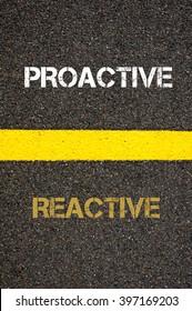 Imágenes, fotos de stock y vectores sobre Proactive Reactive