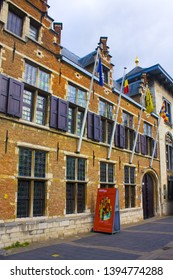 ANTWERP, BELGIUM - May 2, 2019: House-Museum of Rubens in Antwerp