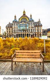 Antwerp Central Railway Station (Antwerpen-Centraal), Antwerp (Antwerpen), Belgium