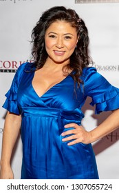 """Anzu Lawson attends Uncork'd Entertainment's """"St Agatha"""" Premiere at Ahrya Fine Arts Theater, Beverly Hills , CA on February 6th, 2019"""