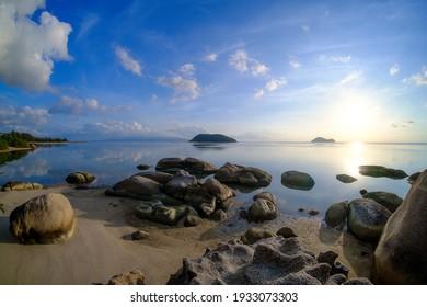 Ao Nai Wok, beautiful bay of koh pha ngan ,Suratthani ,Thailand