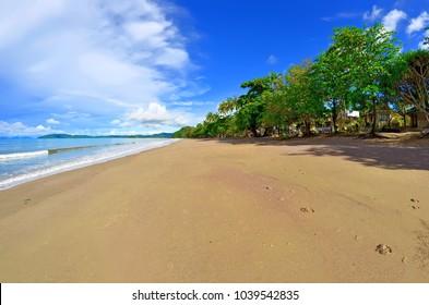 The Ao Nang beach in the morning, Krabi province, Thailand