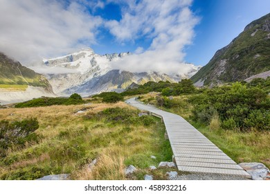 Aoraki Mount Cook National Park, New Zealand