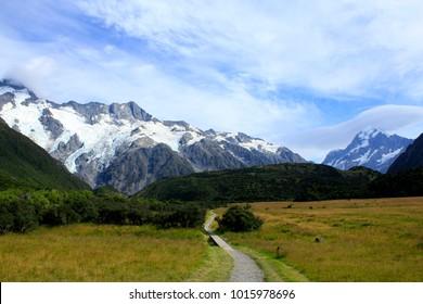 Aoraki/Mount Cook,South Island,New Zealand