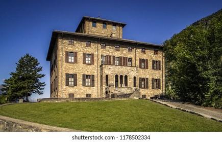 Aosta Valley Castles, Chatillon, Aosta Valley (Italy)