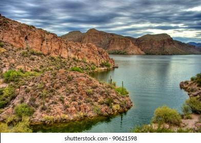 Apache Trail near Phoenix Arizona