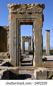 Apadana Palace in Persepolis, Iran