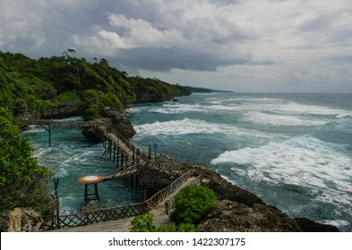 Aparallang Cliff is one of the tourist destinations in Bulukumba Regency, Makassar, South Sulawesi, Indonesia