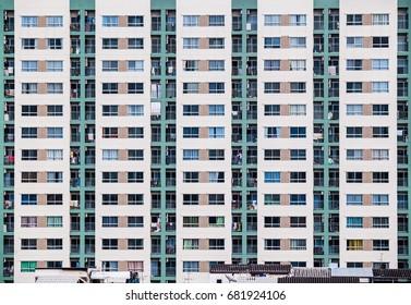 Apartment block in Bangkok