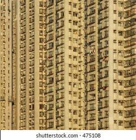 apartment building abstract
