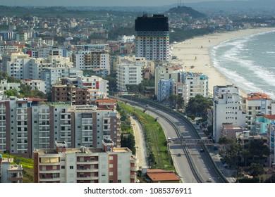 Apartment Building in Durres Beach - Shkemibi Kavajes, Durres / Albania - June 2017