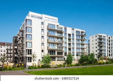 apartment building exterior, residential house facade