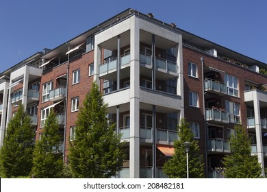 Apartment building in Kiel,Germany