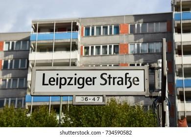 Apartment building on Leipziger Straße in Berlin