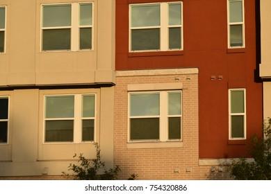 Apartment Building Windows