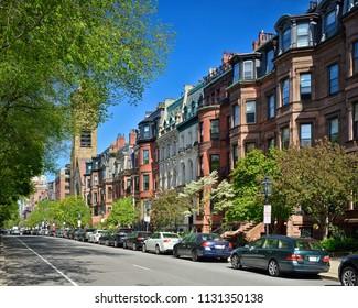 Apartment Buildings in Back Bay Boston