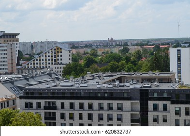 Apartment buildings in Bialystok, Podlasie, Poland