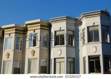 Apartment Buildings Mission District San Francisco Stock Photo Edit