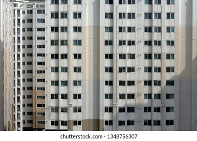 Apartment buildings in Seoul City. Seoul is full of apartment complexes. Koreans love living in apartments.
