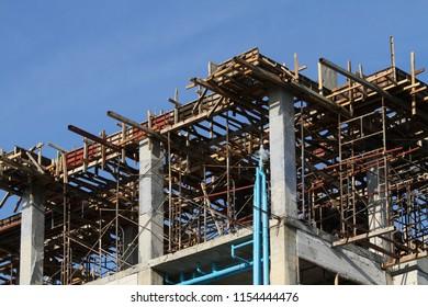 Apartment or condominium building under construction