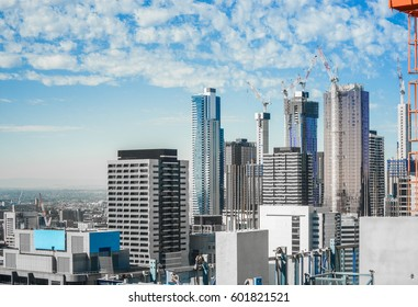 Apartment / Construction / Property growth in Melbourne