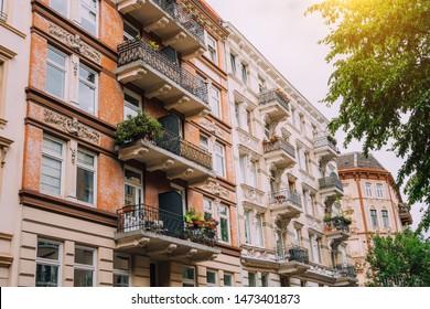 Apartment House in Hamburg St. Pauli, Germany