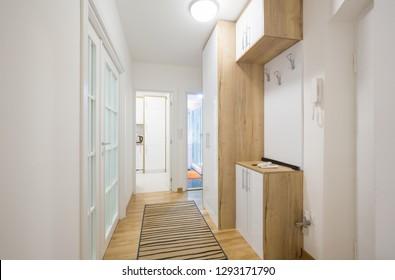 Apartment interior, corridor