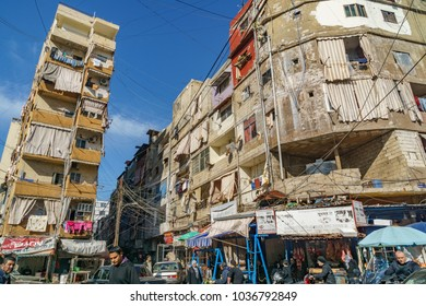 An apartment in Sabra and shatila refugee camp in beirut Lebanon 3 February 2018