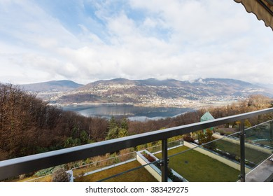 apartment, view from balcony