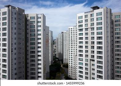 Korea Apartment Images Stock Photos Vectors Shutterstock