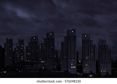 Apartments and skyscrapers at Maslak