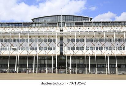 Apeldoorn, The Netherlands - August 3, 2017: City hall of Apeldoorn, a city in the Netherlands