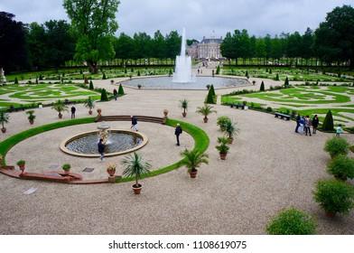 Apeldoorn, Netherlands - July 1,2017: Palace 'het Loo' and gardens