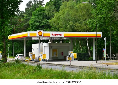 Leuven shell gas station