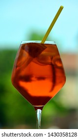 Aperol Spritz is an aperitif cocktail consisting of prosecco, Aperol and soda water. Today Aperol Spritz ranks 9th on the list of the world's best selling