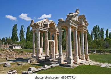 Aphrodisias ancient city - Shutterstock ID 683477914