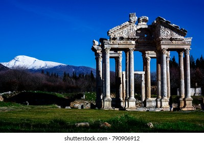 Aphrodisias Antique City was last year listed on the Unesco Permanent Heritage List. Our country was the 17th entity that entered this list. At a meeting held in Ku?adas? last week, the Aydin Governor - Shutterstock ID 790906912