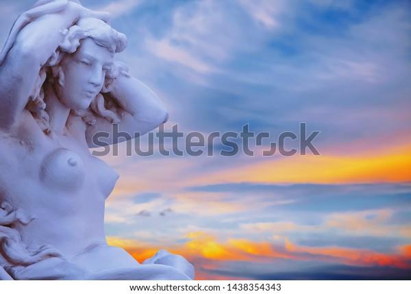 Aphrodite Venus Goddess Love Greek Mythology Stock Photo