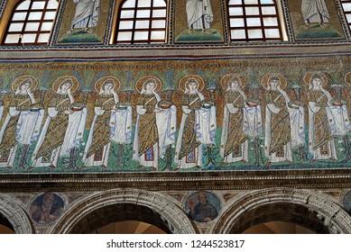 Apollinare Nuovo Ravenna - Mosaics