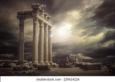 Apollo Temple Ruins -Antalya-Turkey