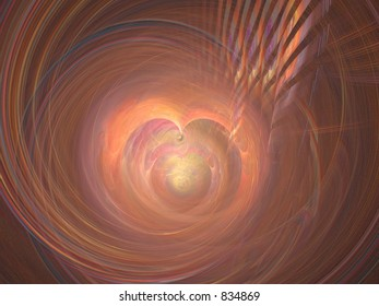 Apophysis abstract with heart shapes, can also be used partially, very detailed full size!