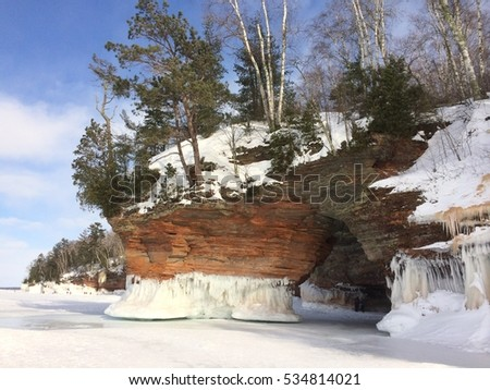 Apostle Islands National Lakeshore, Frozen Over