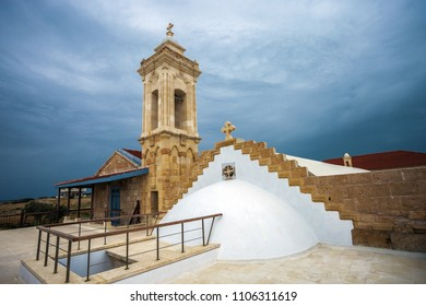 Apostolos Andreas monastery in Dipkarpaz National Park, North Cyprus