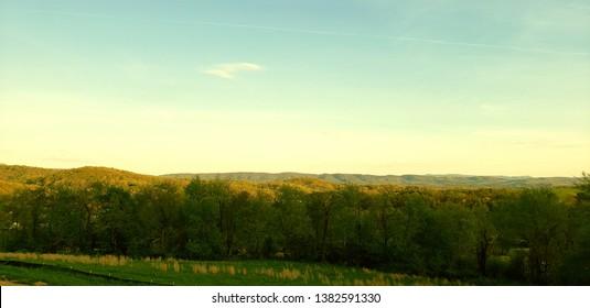 Appalachia in the Early Evening