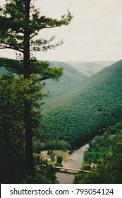 Appalachia vista and river