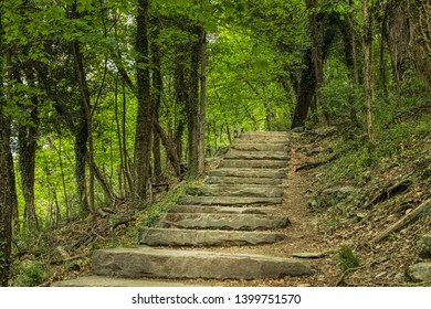 Appalachian Trail in West Virginia's Harpers Ferry